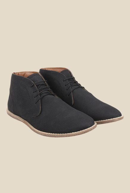Knotty Derby Thomas Black Chukka Boots