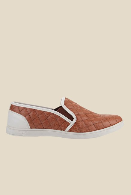 Knotty Derby Terry Tan Plimsolls