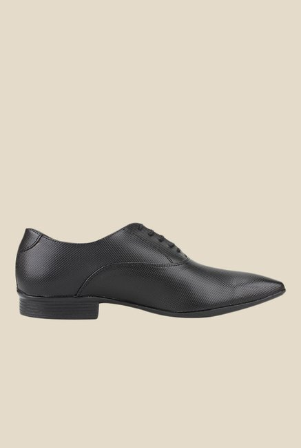 Knotty Derby Arthur Black Oxford Shoes