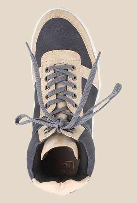Knotty Derby Carrow Beige & Grey Sneakers