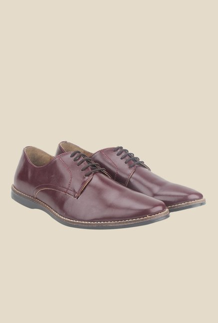 Knotty Derby Ollivander Classic Wine Derby Shoes