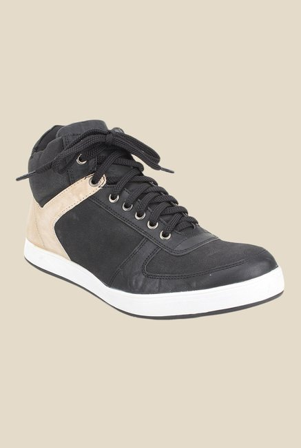 Knotty Derby Carrow Black & White Sneakers