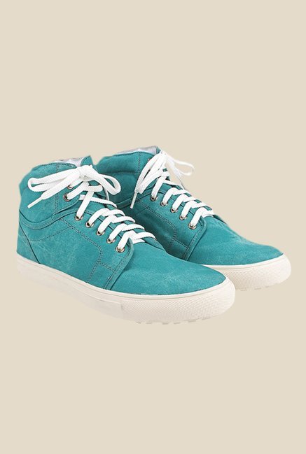 Knotty Derby Alecto Collar Turquoise Sneakers