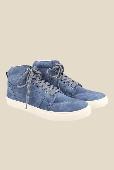 Knotty Derby Alecto Collar Blue Sneakers