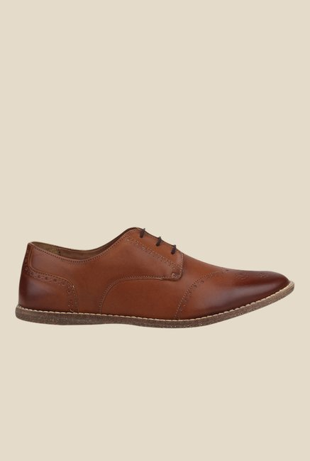 Knotty Derby Thomas Tan Brogue Shoes
