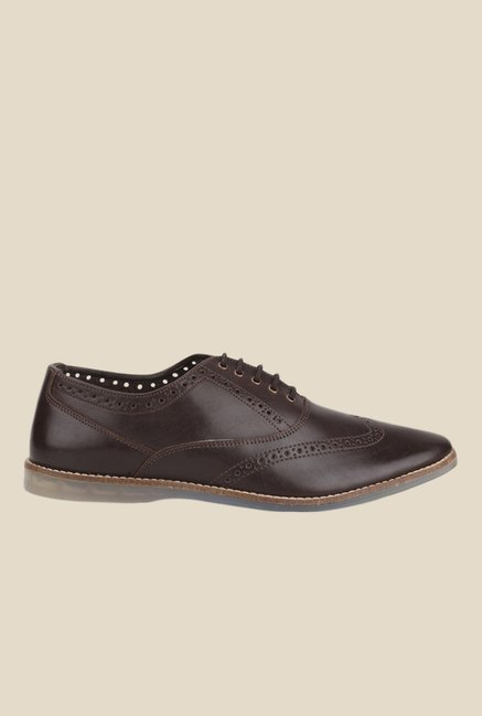 Knotty Derby Ollivander Brown Oxford Shoes
