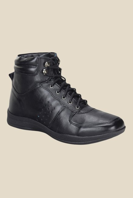 Knotty Derby Susan Black Sneakers