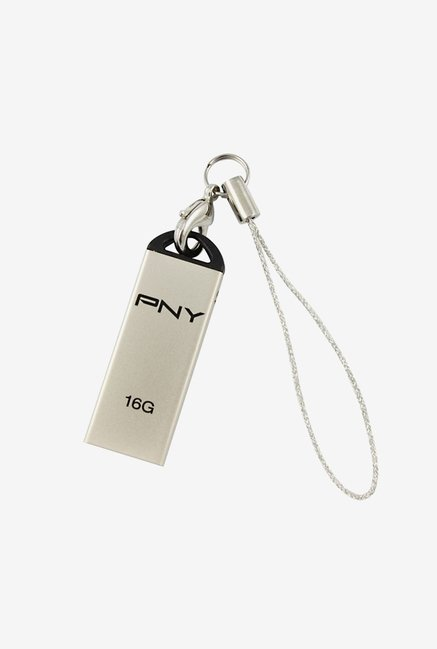 PNY MM-USPDPNY-025 16 GB USB Flash Drive (Silver)