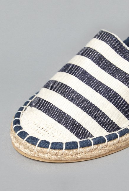 Head Over Heels by Westside Blue Espadrille Shoes