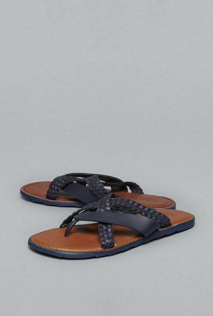 ETA by Westside Navy Thong Sandals