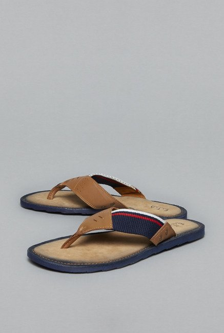 ETA by Westside Tan Thong Sandals