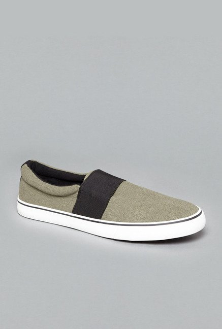 Nuon by Westside Olive Slip-On Shoes
