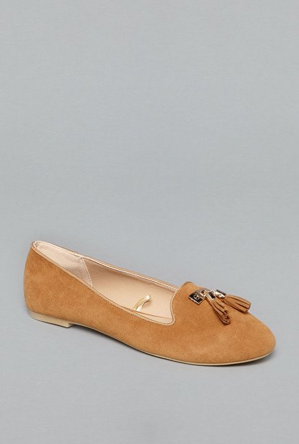 Head Over Heels by Westside Tan Loafer Shoes