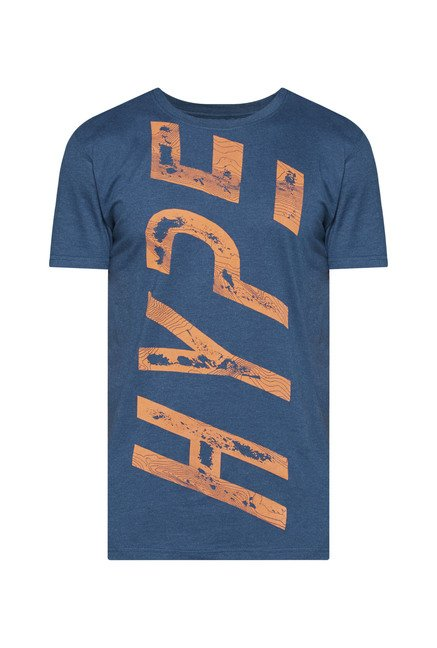 Westsport by Westside Teal Printed T Shirt