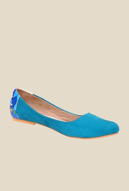 Wearmates Blue Flat Ballets