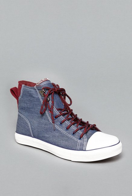 Nuon by Westside Navy Denim Sneakers
