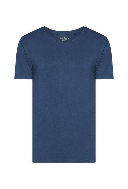 Bodybasics by Westside Navy Solid T Shirt