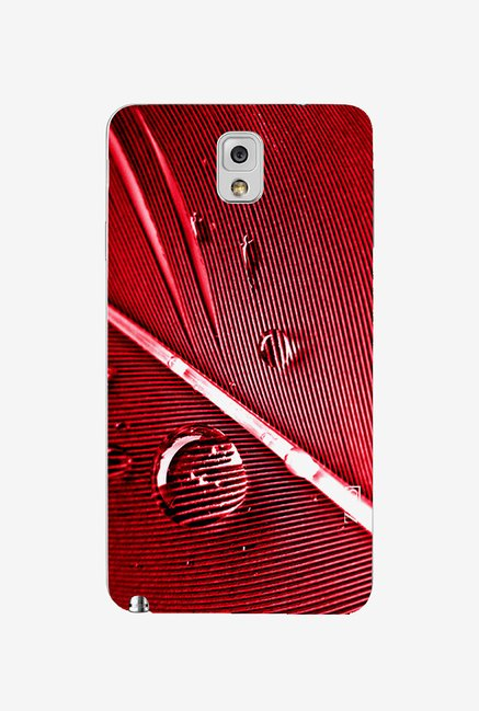 Ziddi WATERDROP Hard Back Cover for Galaxy Note 3 (Multi)