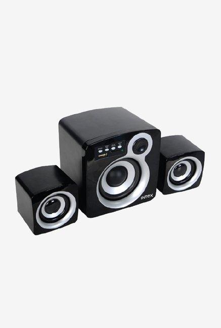 computer speakers white. intex it- 850 u 2.1 computer speakers (black) white