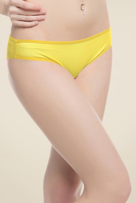 Clovia Yellow Fashion Panty