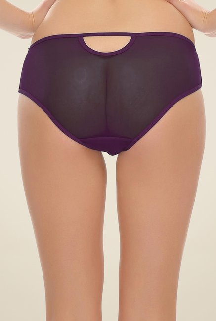 Clovia Purple Fashionable Brief