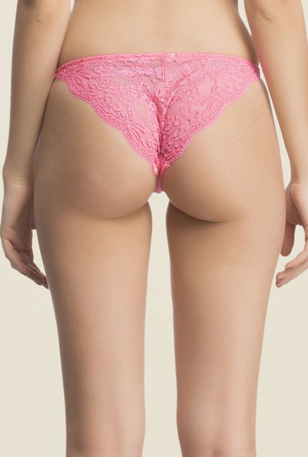 Clovia Pink Solid Brief