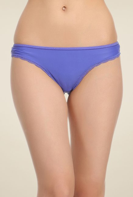 Clovia Lavender Solid Thong Panty