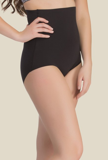 Clovia Black Solid Shapewear