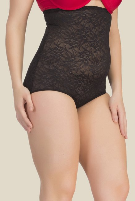 Clovia Black Lace Shapewear