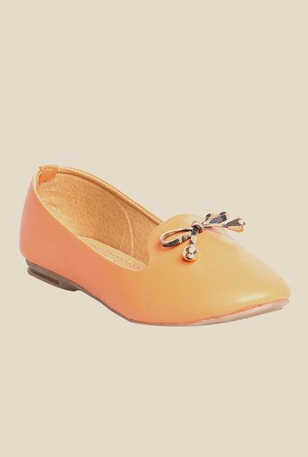 Cobbler's Thread Orange Flat Ballets