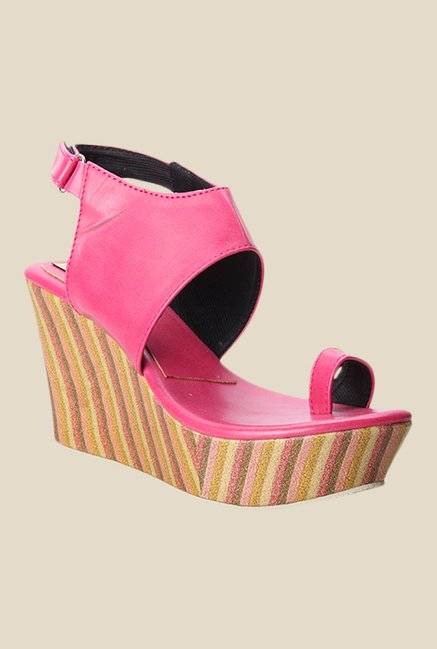 Cobbler's Thread Pink Back Strap Sandals