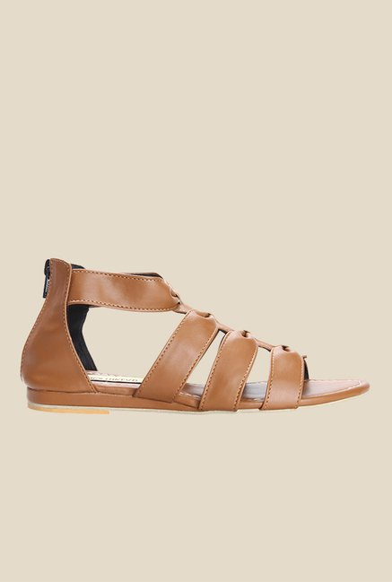 Cobbler's Thread Tan Casual Sandals