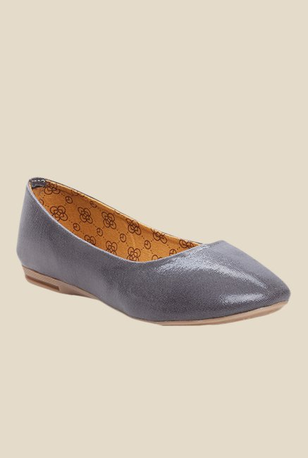 Cobbler's Thread Grey Flat Ballets