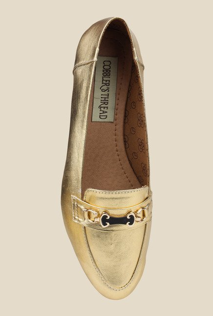 Cobbler's Thread Golden Casual Loafers