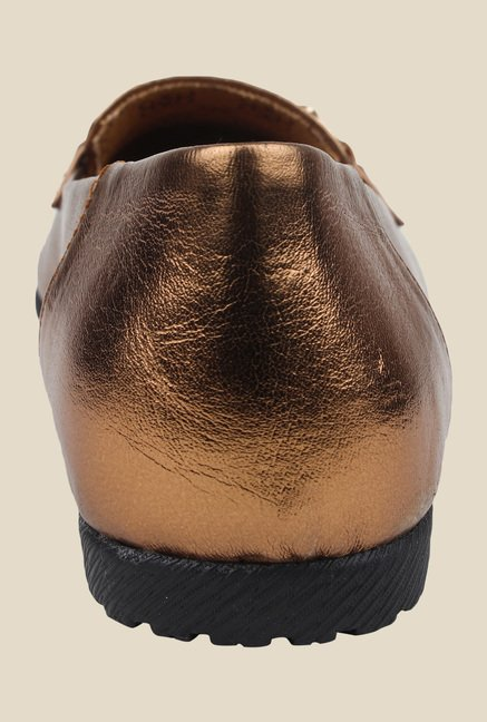 Cobbler's Thread Copper Casual Loafers