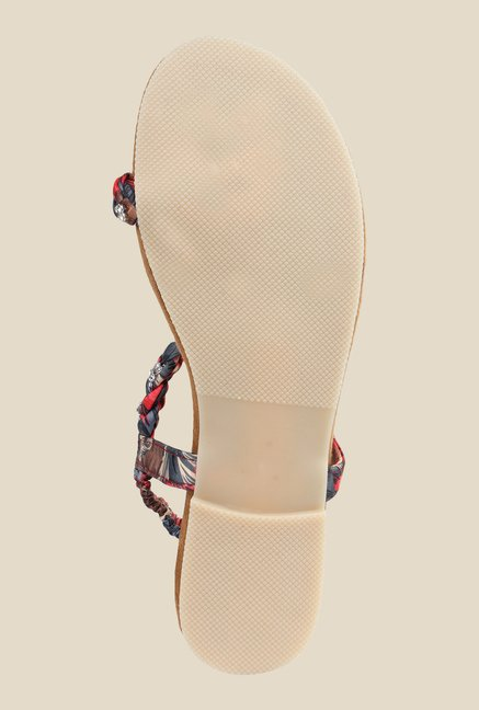 Cobbler's Thread Multicolour Sling Back Sandals