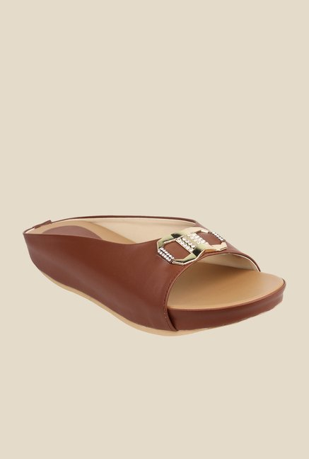 Cobbler's Thread Brown Casual Sandals