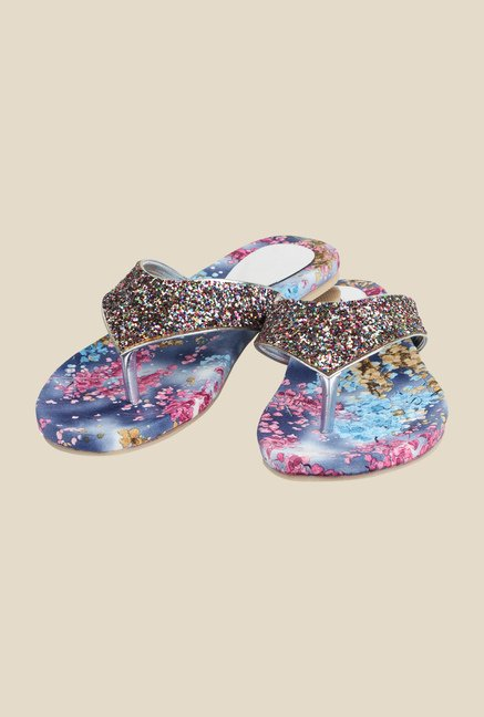 Cobbler's Thread Multicolour Thong Sandals