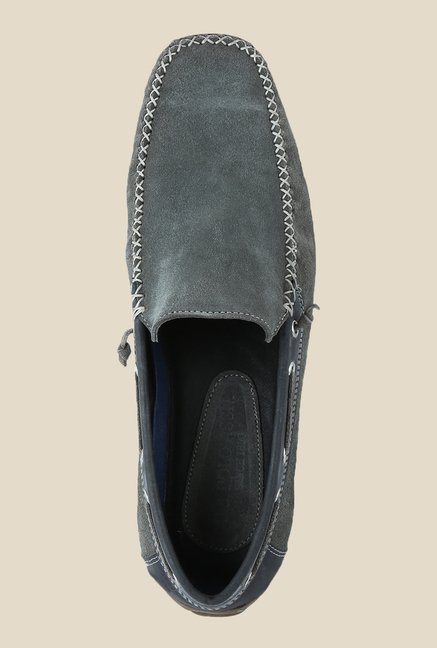 US Polo Assn. Anthracite & Grey Loafers