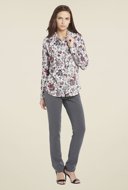 Globus Multicolor Floral Cotton Print Shirt