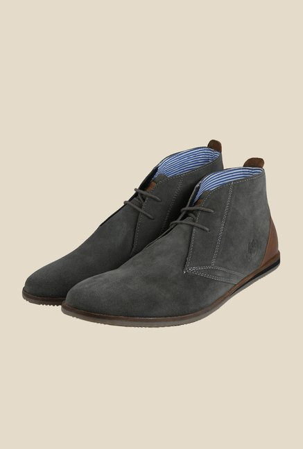 US Polo Assn. Navy Chukka Boots