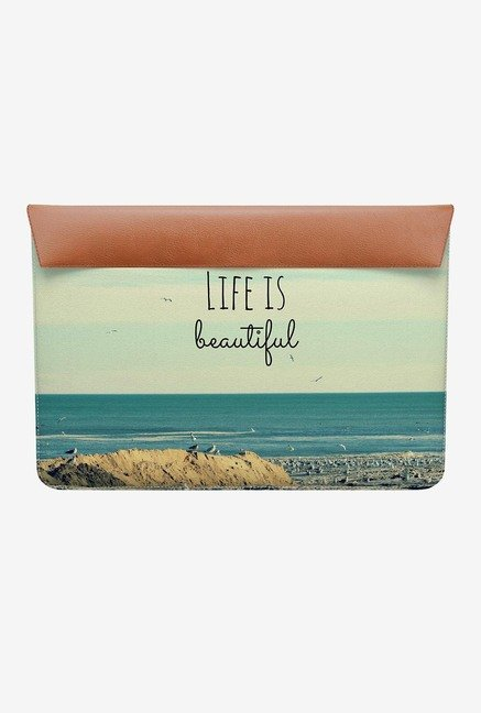 "DailyObjects Life Beautiful MacBook Air 11"" Envelope Sleeve"