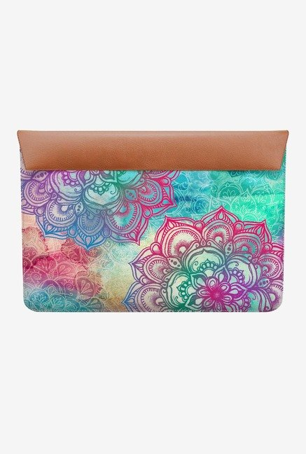 "DailyObjects Round And Round MacBook Air 11"" Envelope Sleeve"
