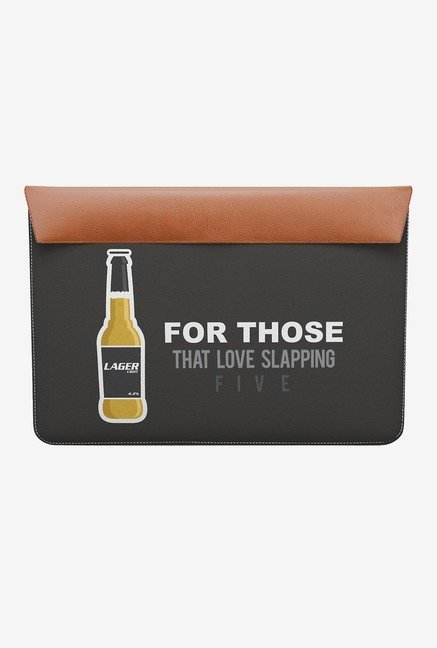 "DailyObjects Lager Light MacBook Air 11"" Envelope Sleeve"