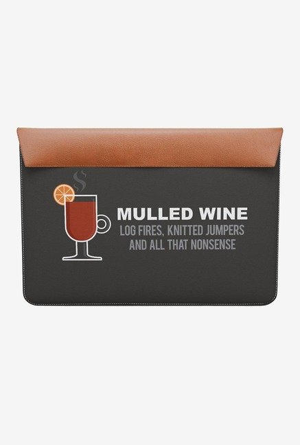 "DailyObjects Mulled Wine MacBook Air 13"" Envelope Sleeve"
