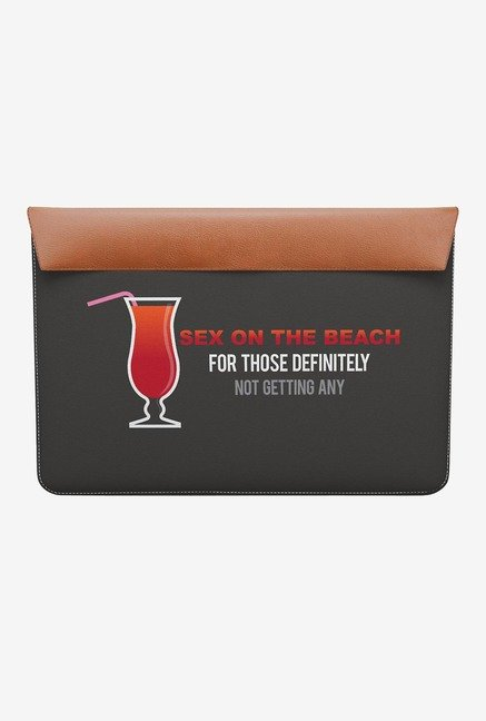 "DailyObjects On The Beach MacBook Air 13"" Envelope Sleeve"