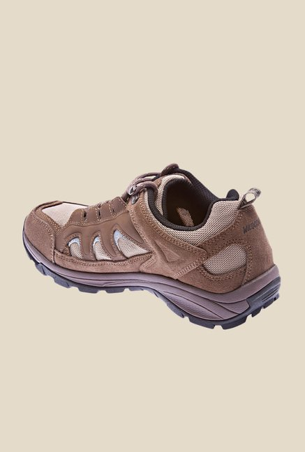 Wildcraft Craggo Gravel Brown Casual Shoes