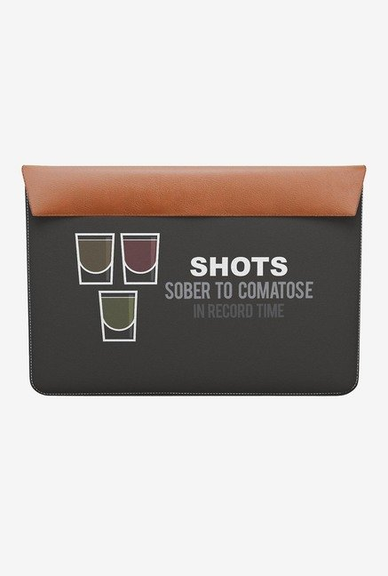 "DailyObjects Shots MacBook Air 13"" Envelope Sleeve"