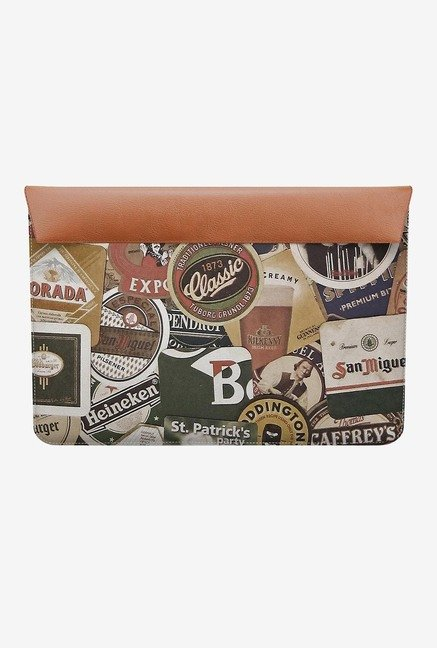 "DailyObjects Beers Of World MacBook Air 13"" Envelope Sleeve"