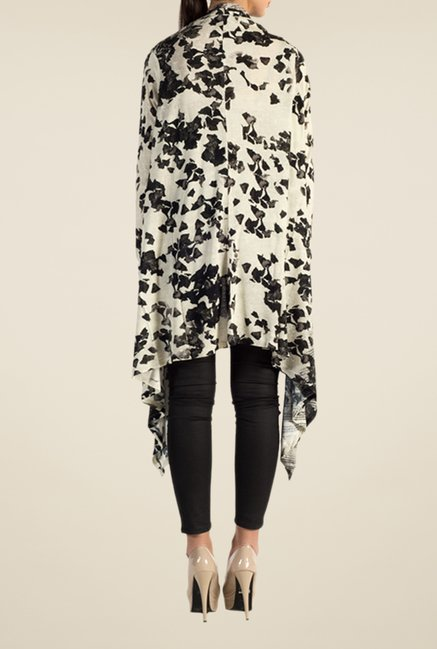 Satya Paul Grey Knit Shrug